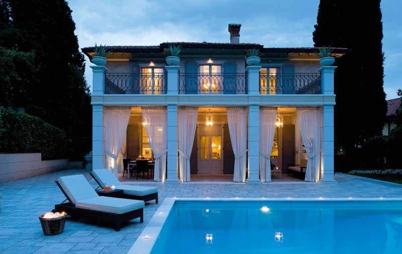 Restaurare villa portico