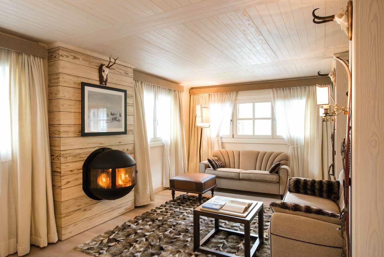 Casa di montagna il rifugio del cacciatore ville casali for Casa interni