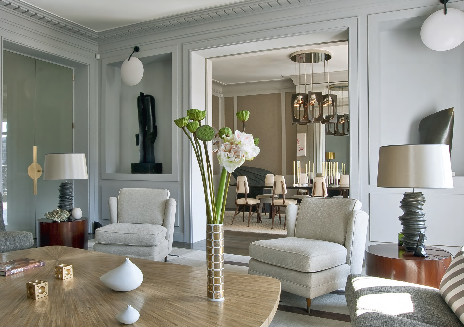 Un appartamento nel trocad ro ville casali for Interni di case eleganti