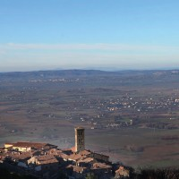 Cortona, l'ombelico del mondo