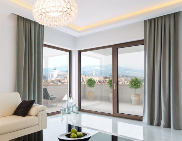 Finestre in legno e alluminio cinque vantaggi ville casali - Finestre legno e alluminio ...