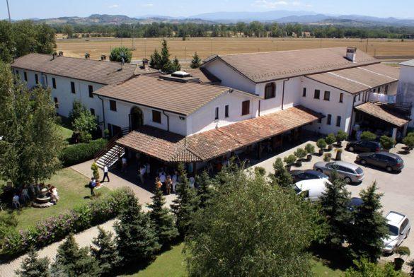 Un delizioso hotel di campagna in un contesto naturale d'effetto