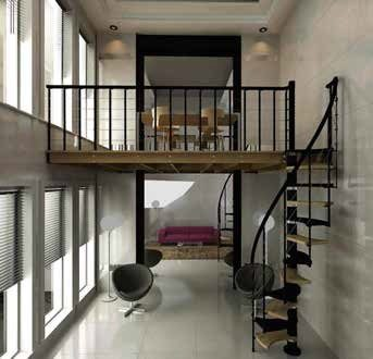 Trio di Rintal Stair System