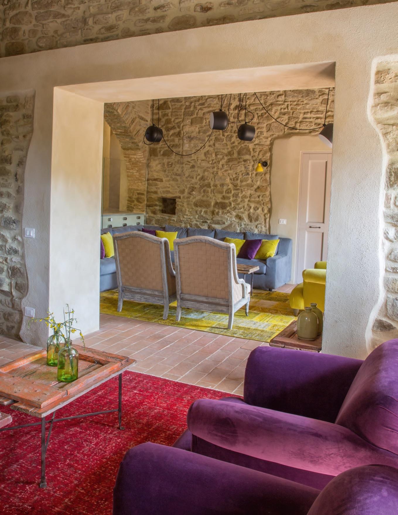 Casa country nel cuore verde dell 39 umbria ville casali - Casa stile country ...