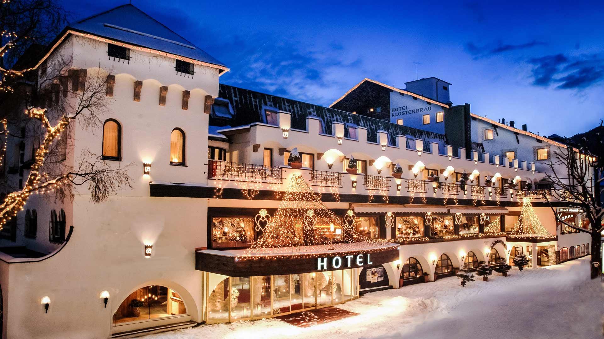 Hotel klostebrau di seefeld in tirolo ville casali for Design hotel seefeld