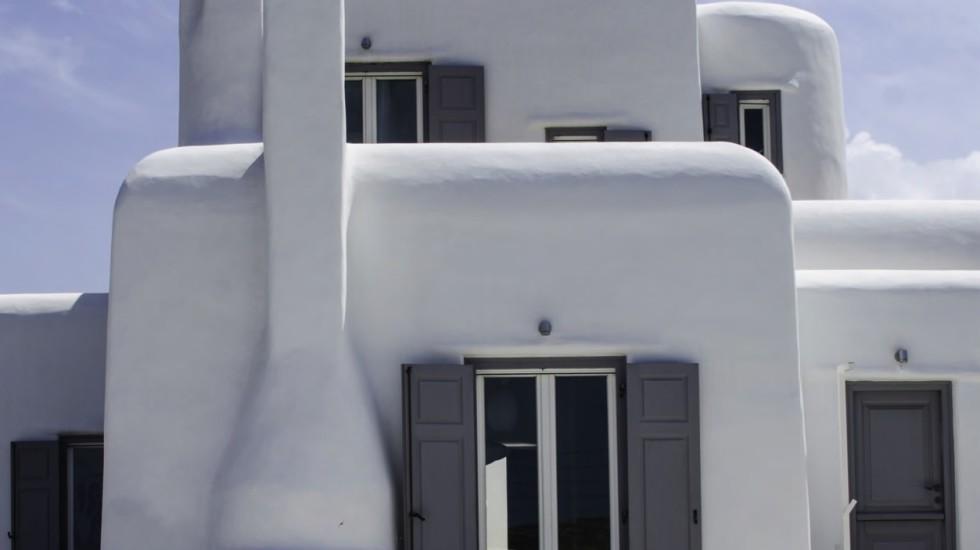 Ristrutturare una villa a Mikonos