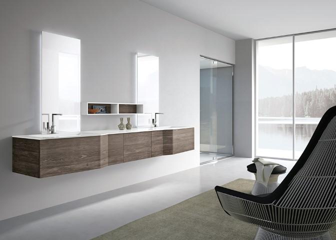 Bagni moderni a misura dei tuoi desideri ville casali for Ambienti interni moderni