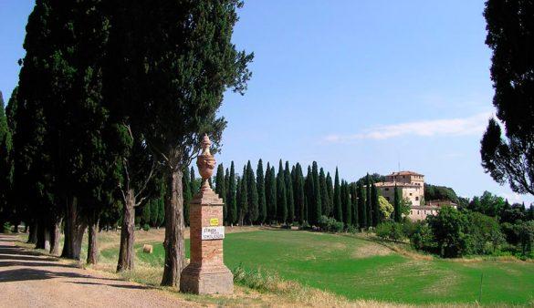 Una tenuta di 600 ettari sulle colline senesi