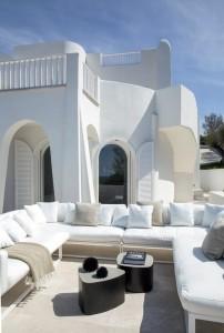 Una villa sulla costa