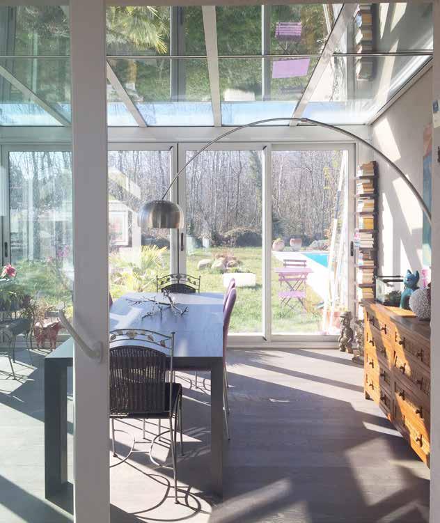 Casa con piscina immersa nella natura con stile - Isolare parete interna a nord ...