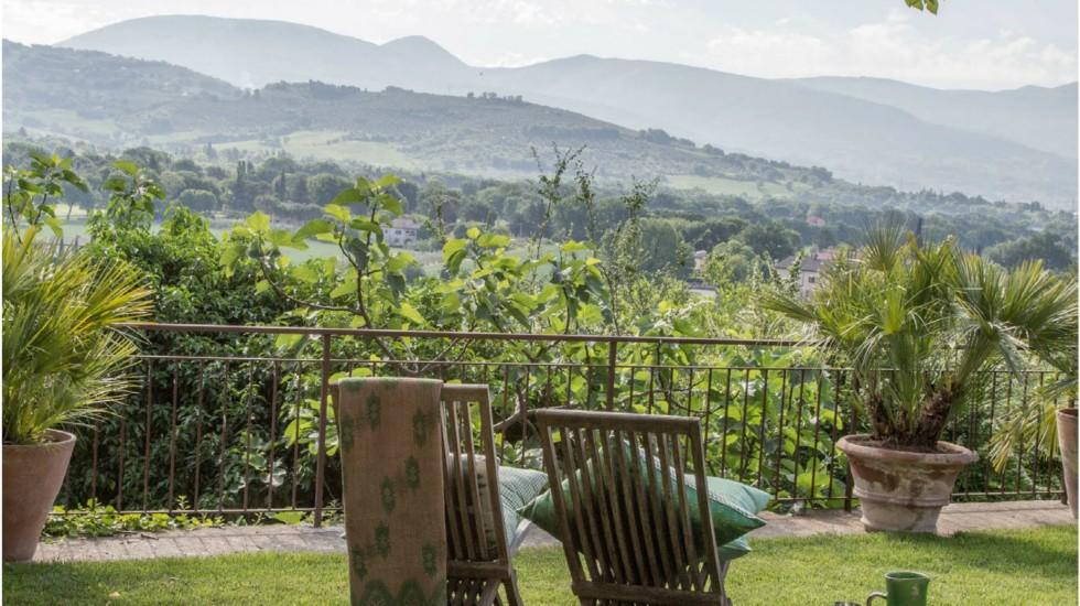 Casale in Umbria dal sapore orientale