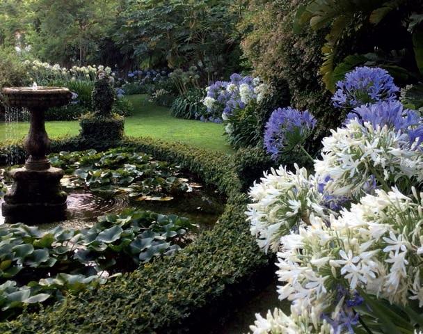Giardino inglese a villa della pergola che sogno ville for Giardini villa della pergola