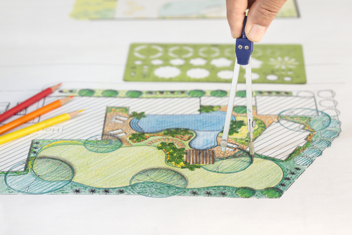 Progettare un giardino idee e considerazioni ville casali for Progettare la mia piccola casa