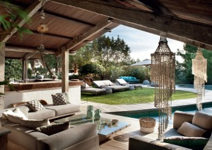 Villa a Ibiza: un mix tra semplicità e glamour