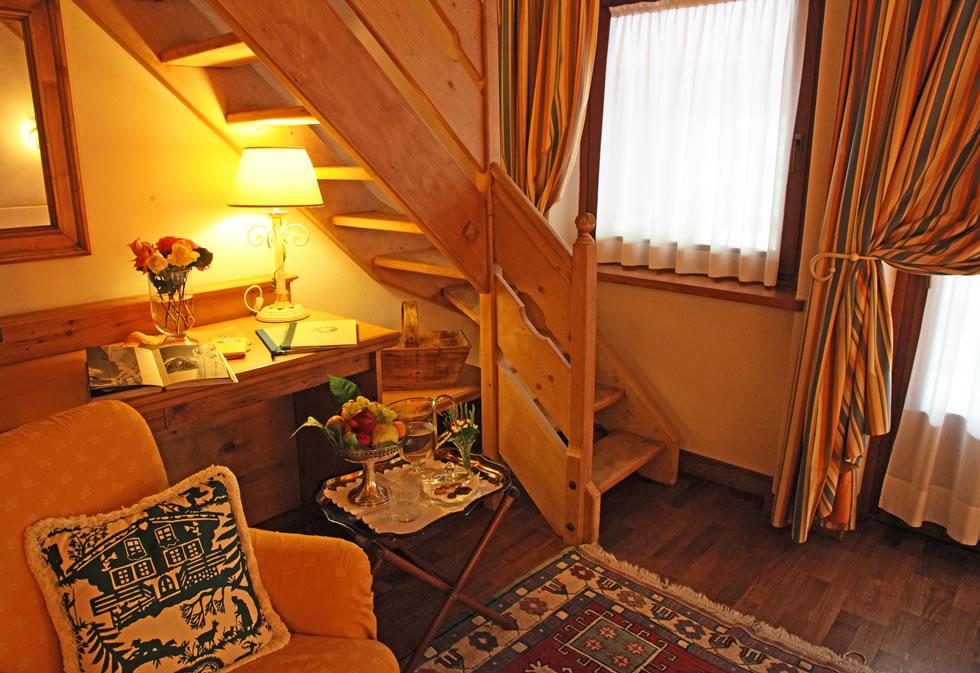 Auberge de la maison di entreves ville casali - Soppalco in camera ...