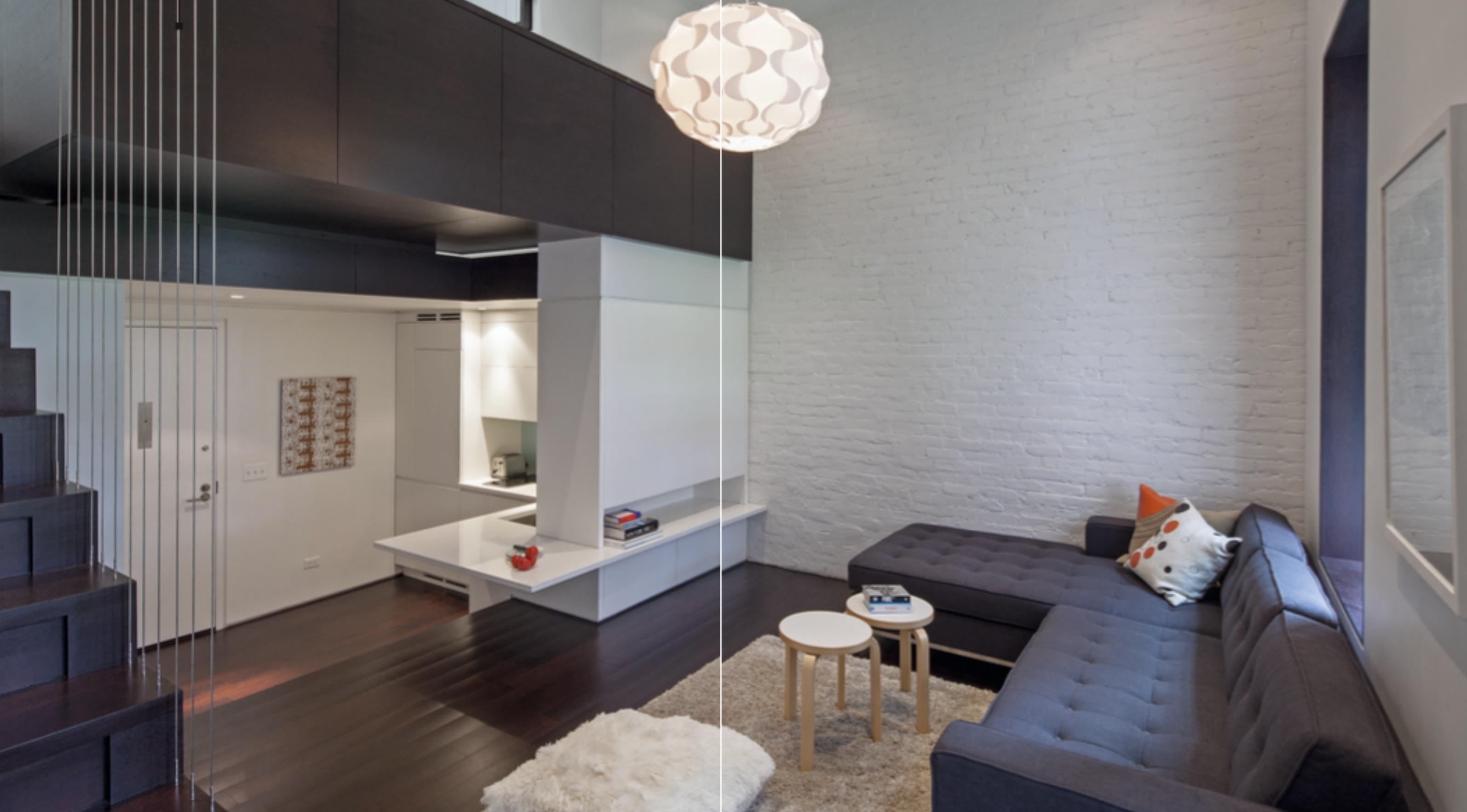 ... Di Capire Immediatamente Le Potenzialità Di Questo Mini Appartamento  Dellu0027Upper West Side Di Manhattan E Realizzare Il Restyling Di Un Loft.