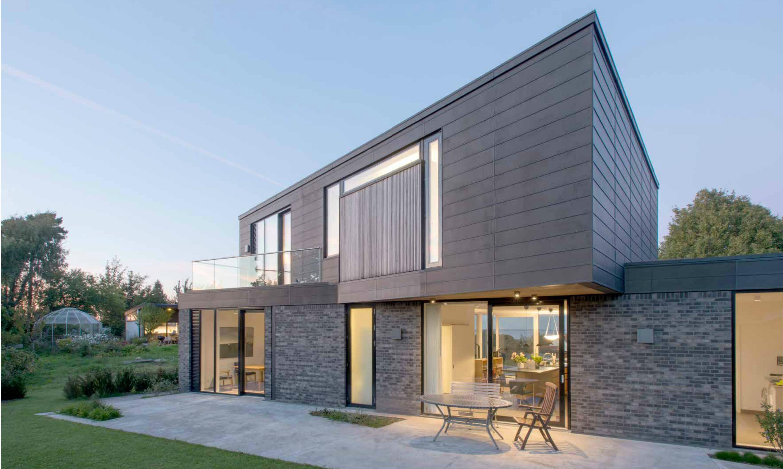 Villa in danimarca con un cuore di luce for Ville architetti famosi