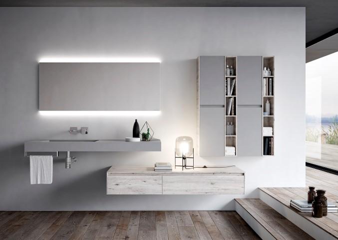 Bagno moderno rinnovato con Nyù by Aqua   Ville&Casali