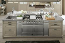 Country chic cucina
