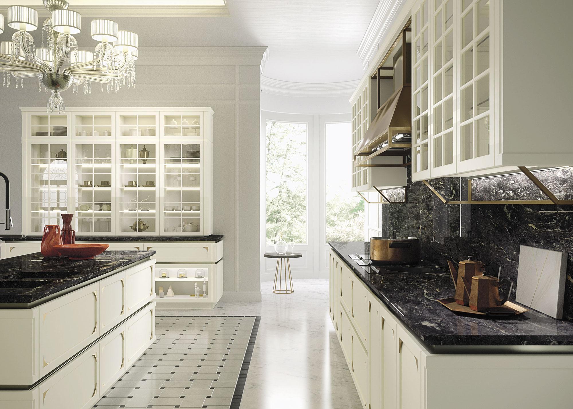 cucine snaidero lo stile pininfarina e iosa ghini ville casali. Black Bedroom Furniture Sets. Home Design Ideas