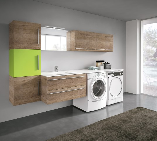 Mobili per lavanderia: pensiamo allo spazio  Ville&Casali