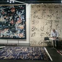 Tappeti moderni: la luce di Rotelli a New York