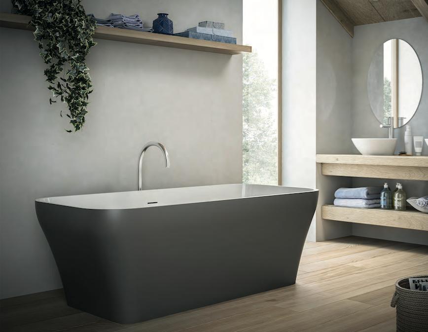 Arredare il bagno colori alla moda e design for Arredare il bagno