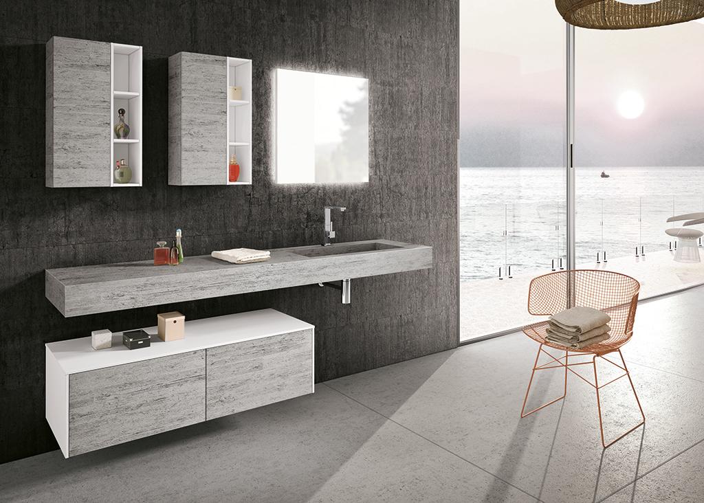 foto di bagni moderni. arredamento per bagno moderno con elementi ... - Ambientazioni Bagni Moderni