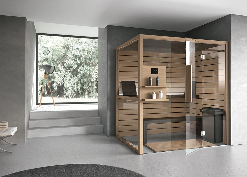 Bagni moderni per il benessere domestico ville casali for Costruire una sauna in casa