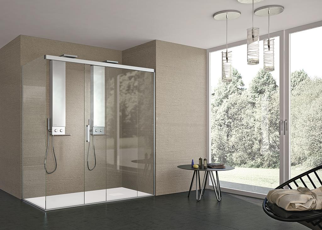 Bagni moderni per il benessere domestico ville casali for Bagni arredati immagini