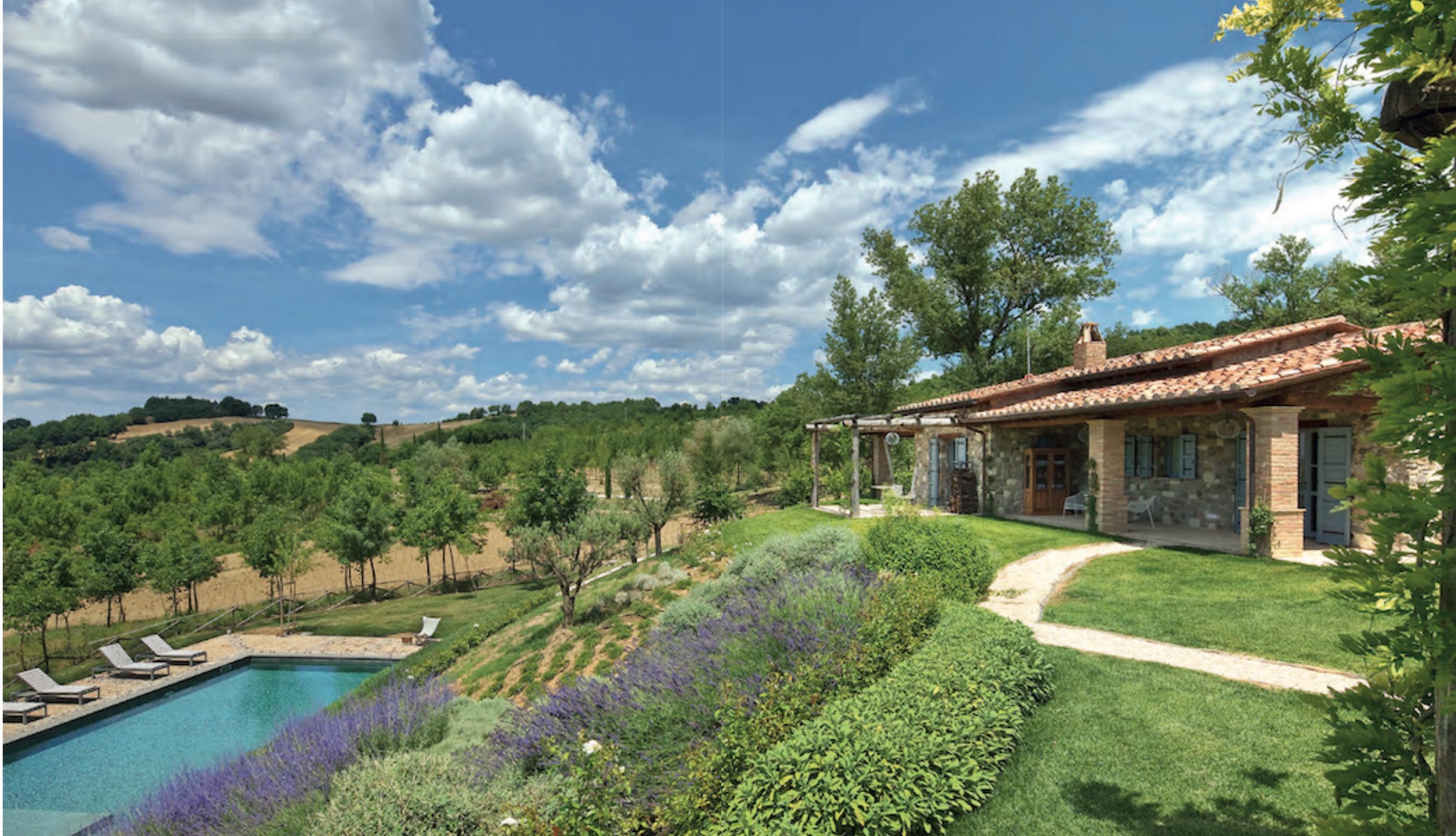 Giardini di campagna idea creativa della casa e dell for Architettura della casa di campagna