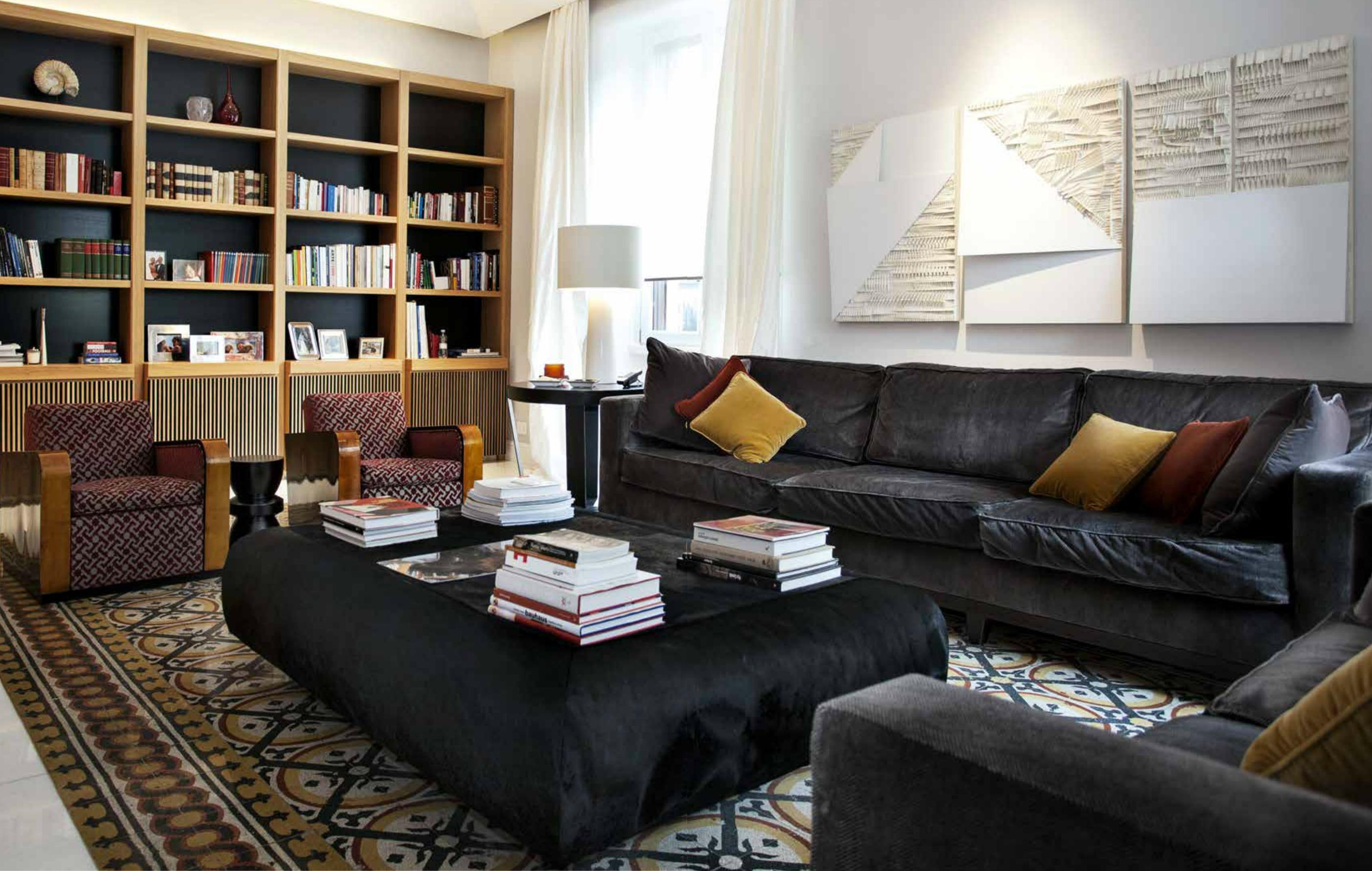 Ristrutturazione di un appartamento in stile art d co for Un appartamento