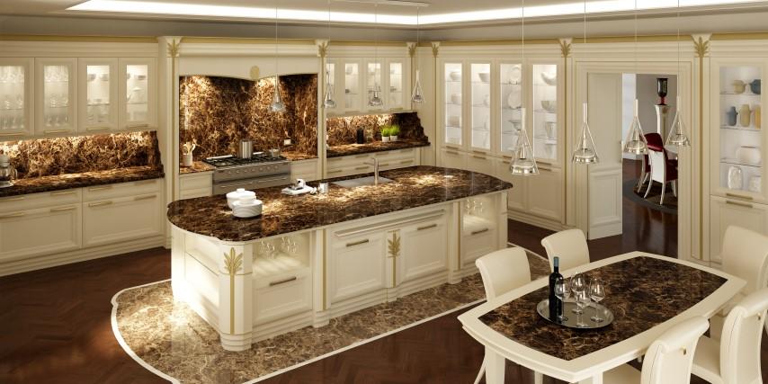 Arredamento classico il design globale ville casali for Arredamento classico bologna