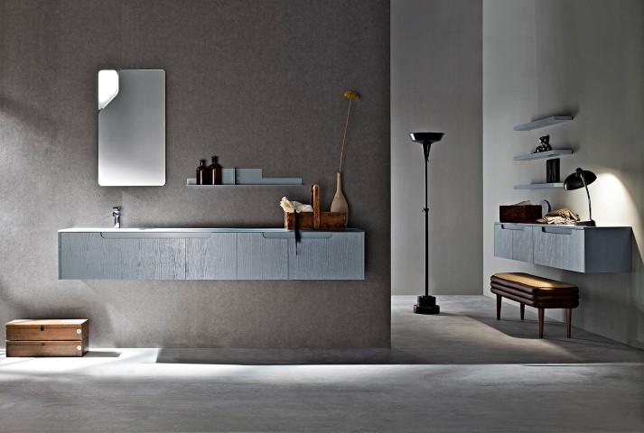 Bagno moderno la bellezza componibile ville casali - Bagno in camera moderno ...