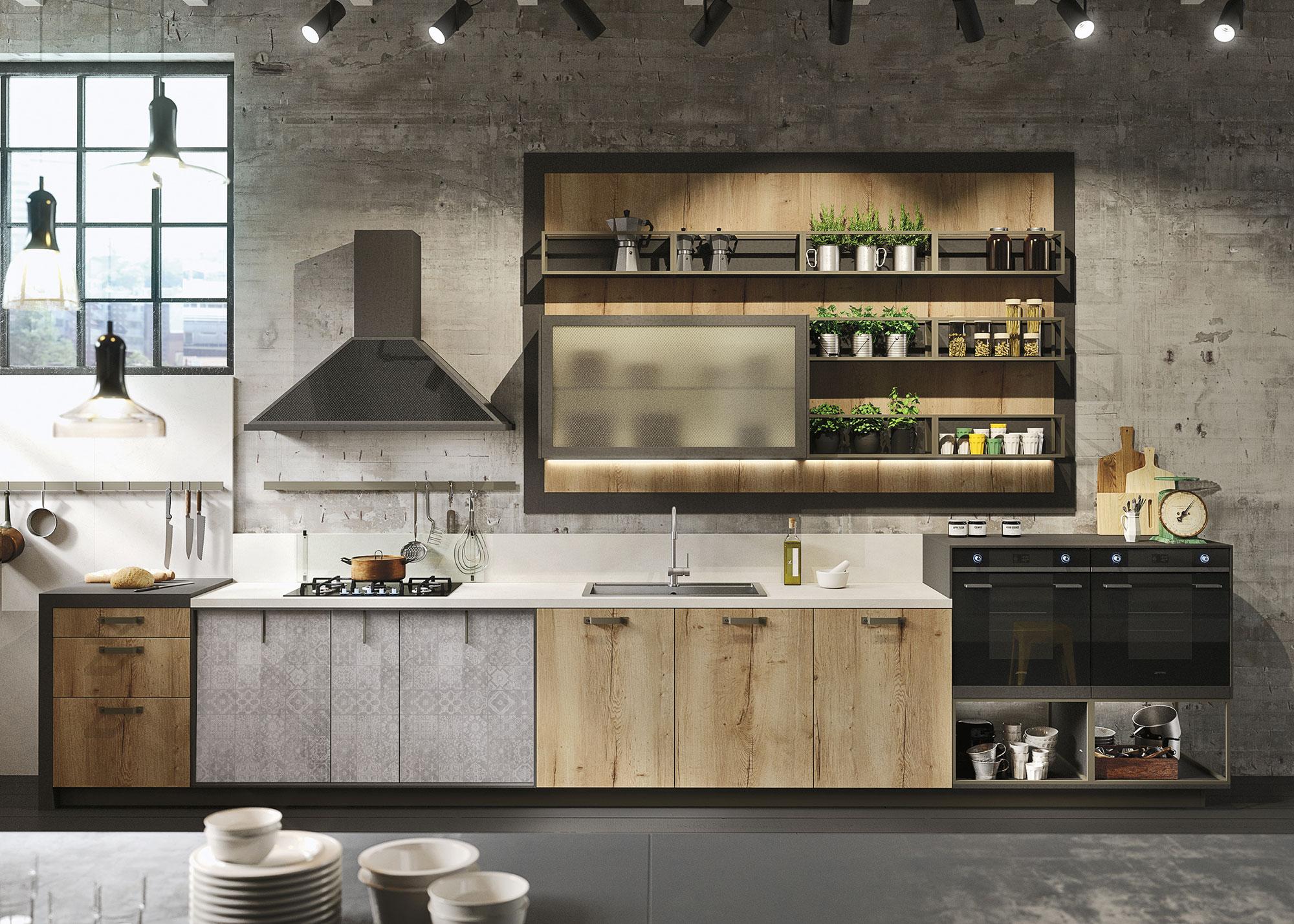 "Cucine moderne: eleganza ""sartoriale"" e contaminazione | Ville&Casali"