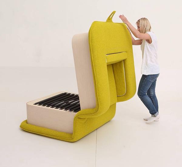 Poltrona di design: Flop diventa anche letto | Ville&Casali