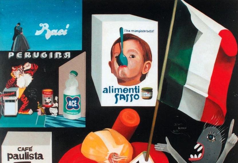 Arredamento Pop Art Milano : Pop art l italia negli anni del boom