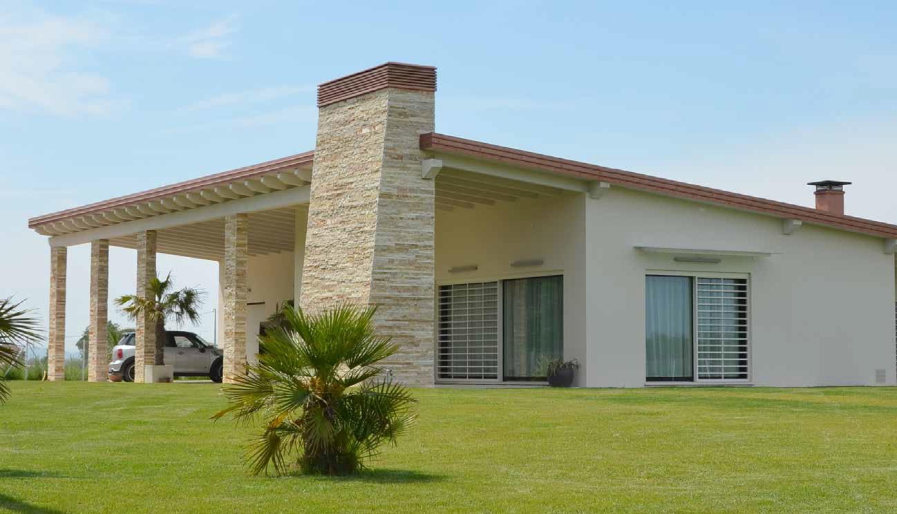 Casa colonica reinterpretazione moderna for Case di architetti moderni