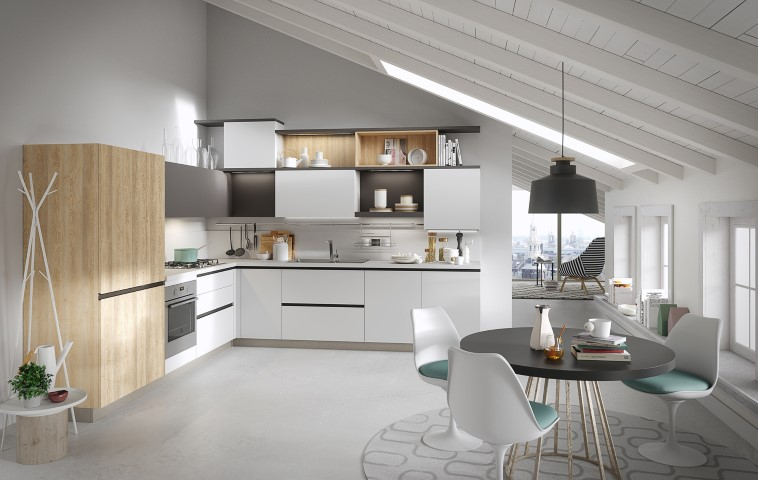 Cucine moderne per gusti giovani   Ville&Casali