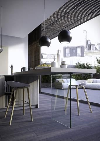 cucine moderne per gusti giovani ville casali. Black Bedroom Furniture Sets. Home Design Ideas