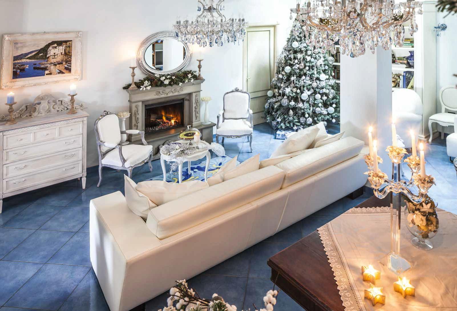 Decorare la casa creativit per le feste ville casali - Decorare casa con candele ...