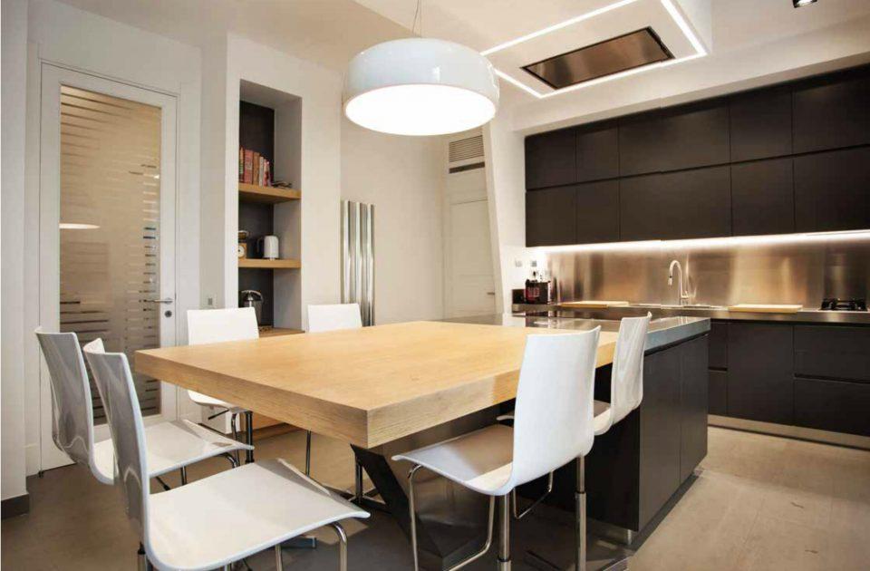Cucina Moderna Sobria E Tecnologica
