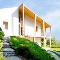 Ristrutturare una villa nel verde del bosco