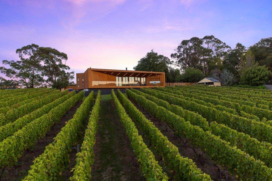 Architettura moderna nella regione dei vini ville casali Idee architettura