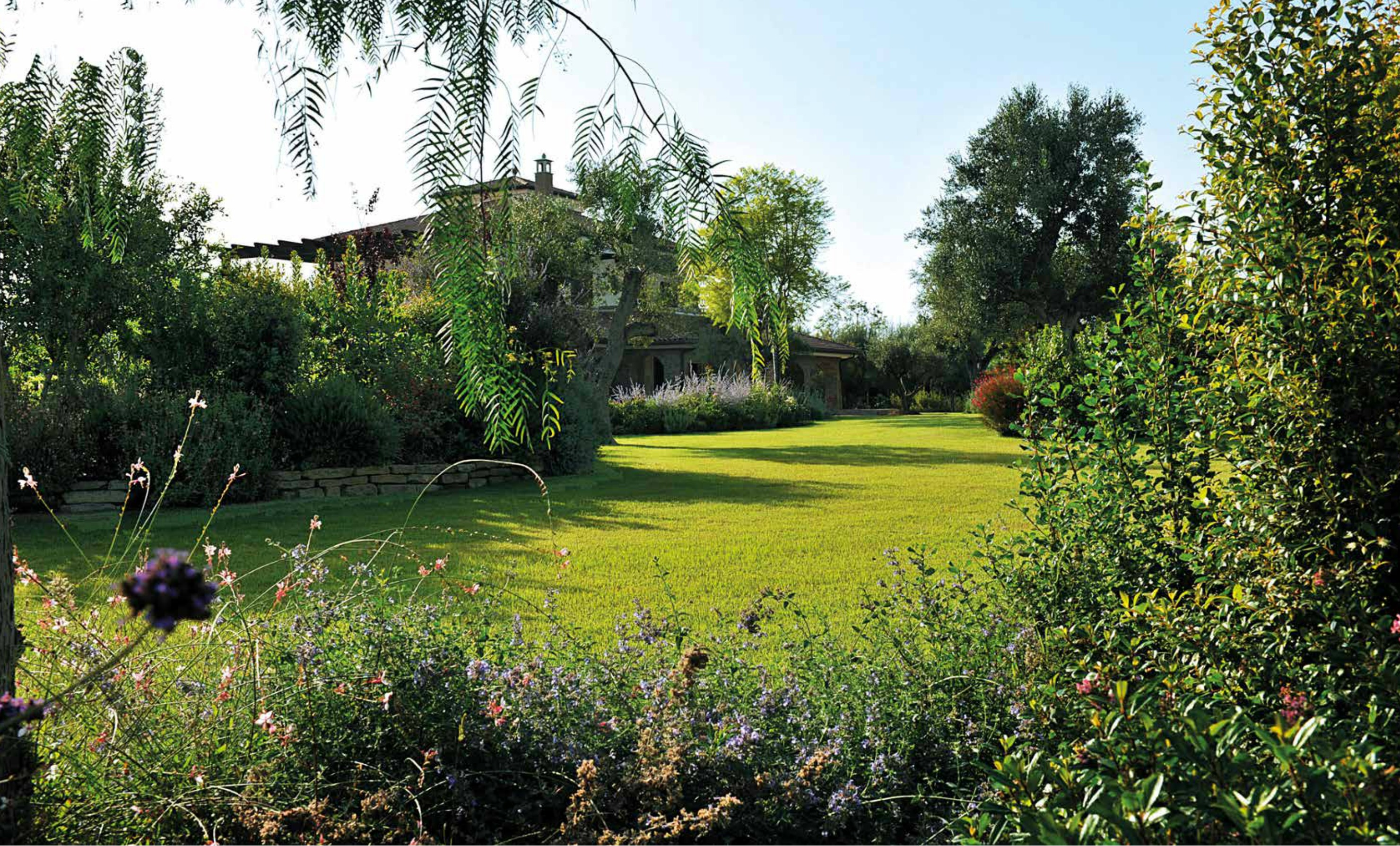 Creare un giardino un regno colorato di relax - Giardini d inverno immagini ...