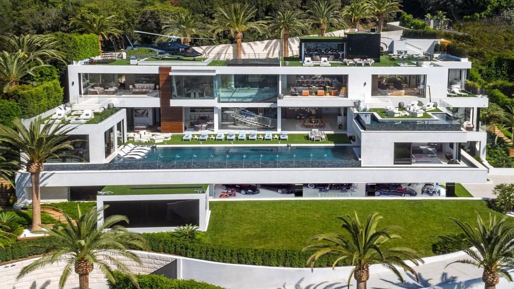 Una villa da 250 milioni