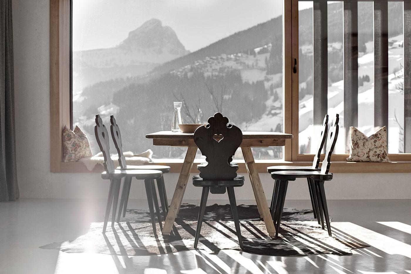 Case di montagna legno cemento e vetro ville casali - Case di montagna moderne ...