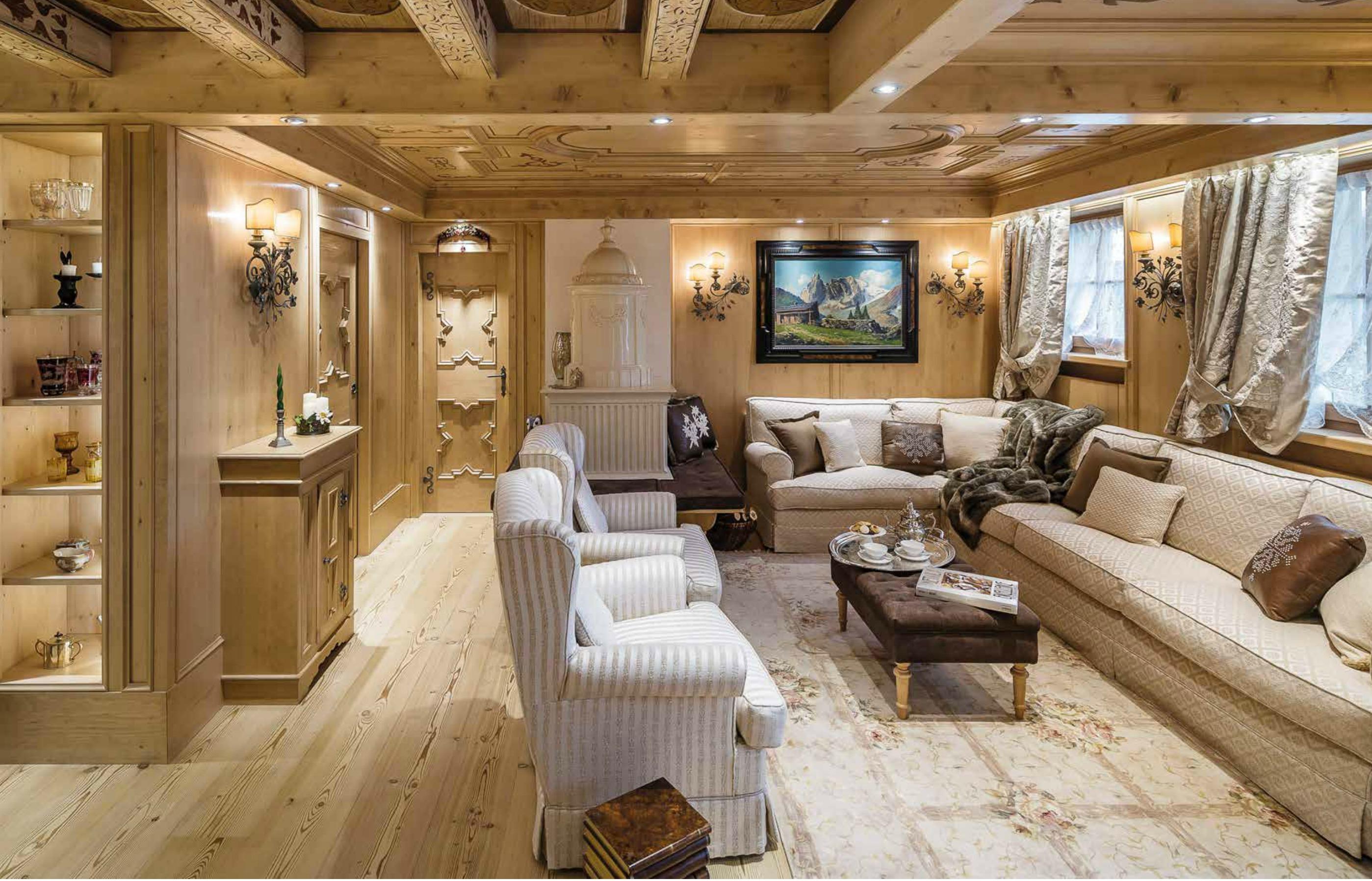 Casa a cortina d 39 ampezzo profumo di bosco for Case moderne nei boschi