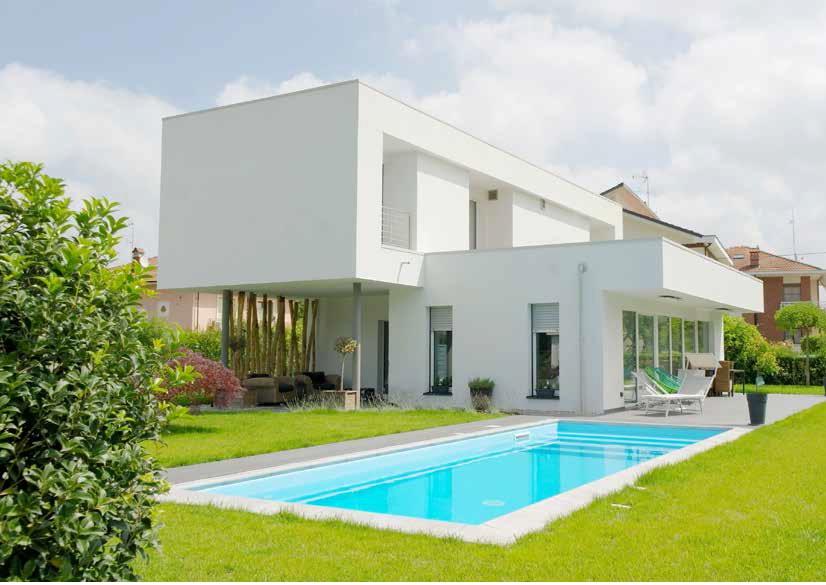 Villa moderna giochi di design ed alte prestazioni for Progetto villa moderna