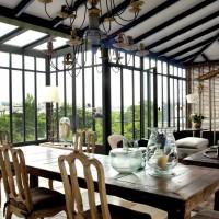 Casa a Parigi: aria di campagna in centro